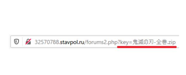 詐欺サイトのアドレス(URL)の解説